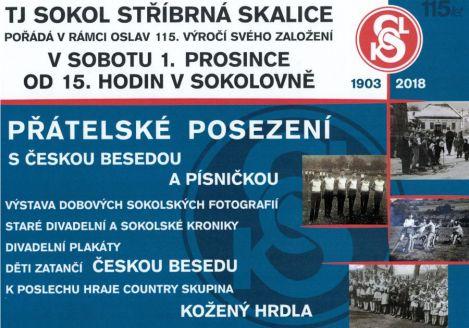 Plakát oslav založení Sokola